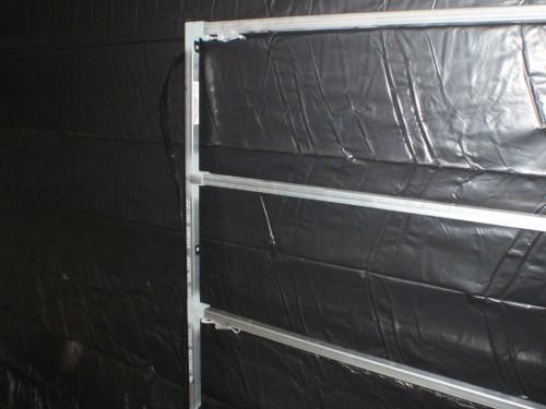4 Rail 1400 high 1700 long panel end