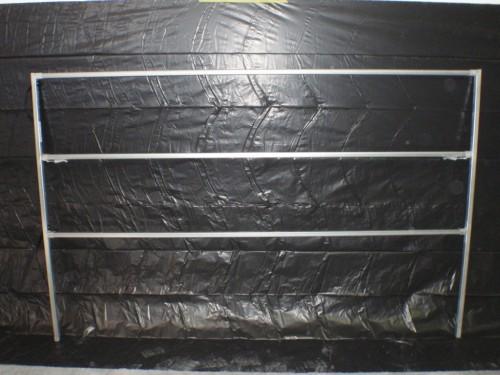 3 Rail 1400 high 2200 long general purpose panel